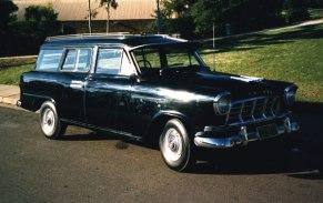 1960 Holden Hearse
