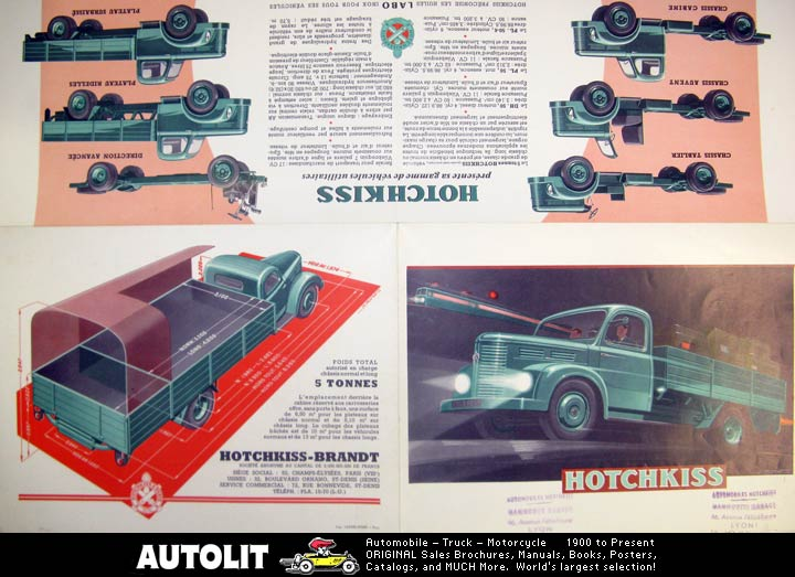 1960 Hotchkiss 5 Ton Truck Brochure 3