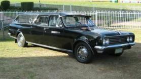 1960's Holden Premier Hearse. Australia