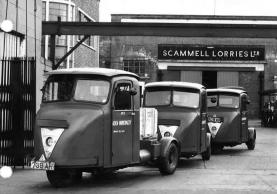 1960's Memories of Scammell Lorries in 1960s Watford