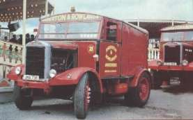 1960's Scammell Lion Dragon Exeter