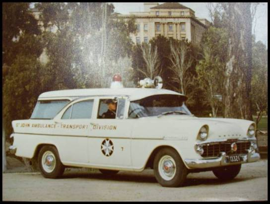1961 EK Holden Ambulance