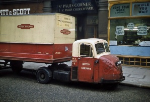 1962 Scammell Scarab marked British Railways