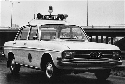 1963 Prachtige Audi Politieauto