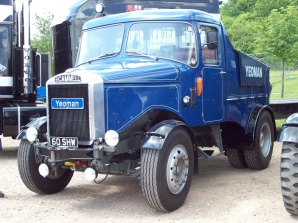 1963 Scammel Highwayman Engine 11093cc SHW