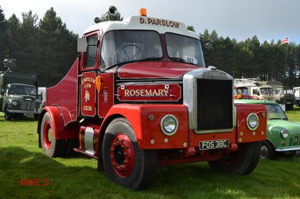 1963 Scammell Highwayman 'D. Parslow & Son'