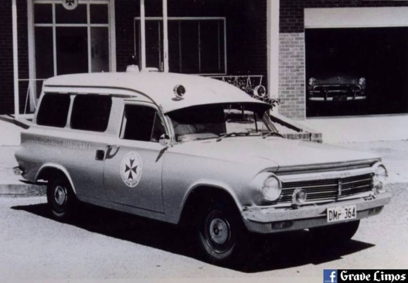 1964 EH Holden ambulance