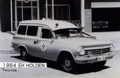 1964 Holden Ambulance