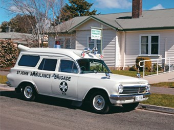 1964 Holden EH panel van Ambulance