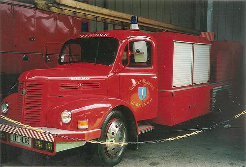 1964 Hotchkiss PL50 Camion Citerne Incendie