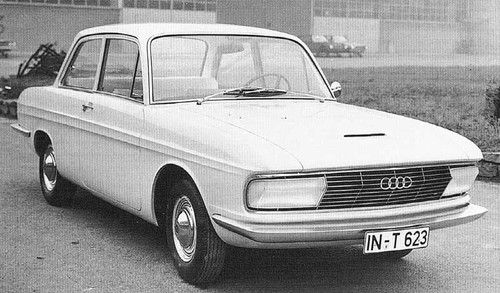 1965 Audi F103 series Audi front design proposal made by Bertone in 1965 to replace DKW F102 after VW ownership