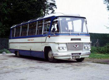 1965 Bedford SB13 Duple Firefly (C37F)