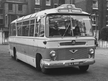 1965 Bedford SB13 Duple Vega (C41F)
