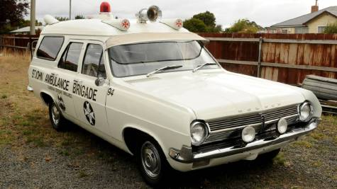 1965 HD Holden ambulance