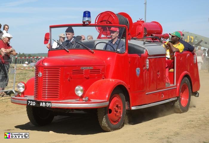 1965 Hotchkiss PL50 ex-Pompiers