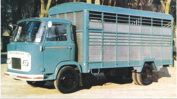 1965 le camion hotchkiss dh 60 et 70