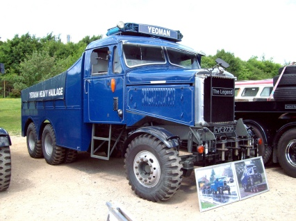 1965 Scammell Junior Constructor Engine 11.093cc YEOMAN