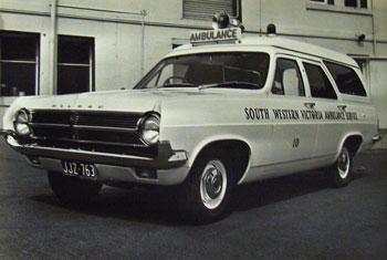 1966 Holden HD Ambulance