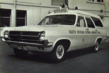 1966 Holden HD Ambulance