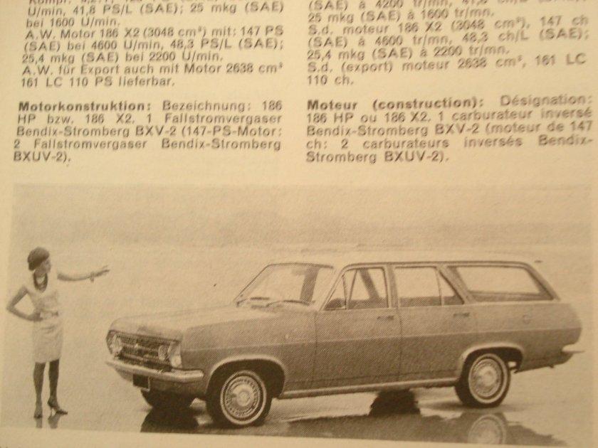 1966 Holden HR Combi 3048cc