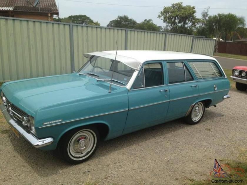 1966 Holden HR Combi Special 3048cc