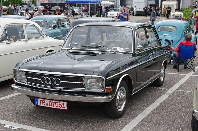 1967 Audi Super 90, 90 PS (1966-1969)