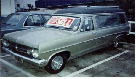 1967 Holden HR Hearse