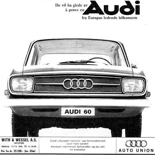 1968 Audi 60