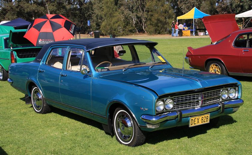 1968 Holden HK Brougham (1968-1969)