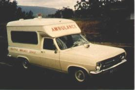 1969 Holden HR Ute Ambulance
