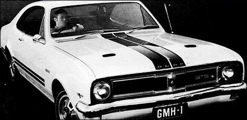 1969 holden ht monaro gts