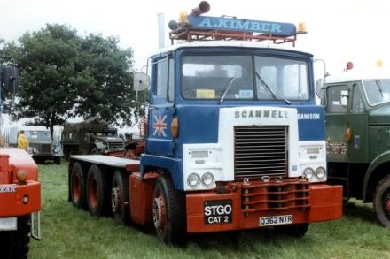 1970 Scammell Samson Q362NTR