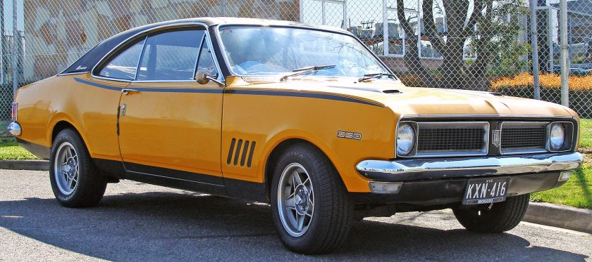 1970–1971 Holden HG Monaro GTS 350 coupe