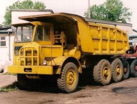 1970s Scammell Himalayan Dumptruck