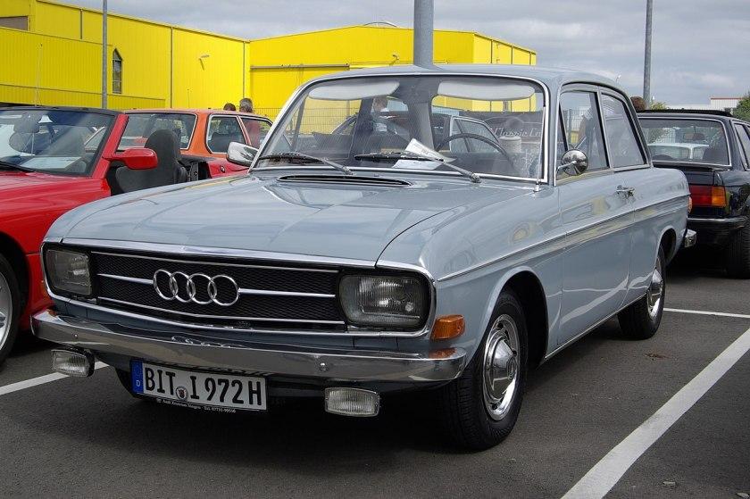 1972 Audi 60 L, 1500 cm³, 4 Zyl., 55 PS