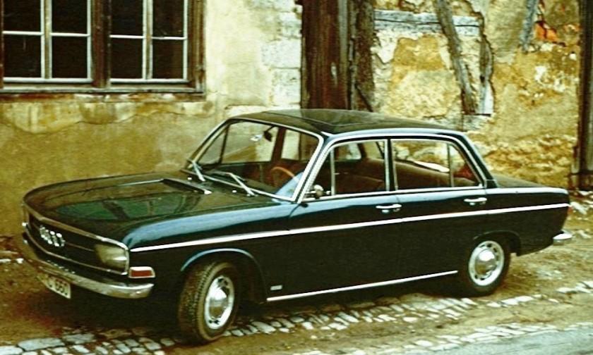 1972 Audi 75 in central Germany