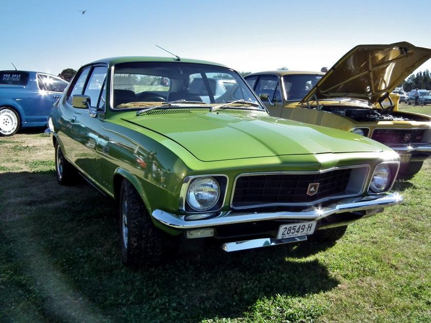 1972 Holden LJ Torana GTR XU-1 sedan