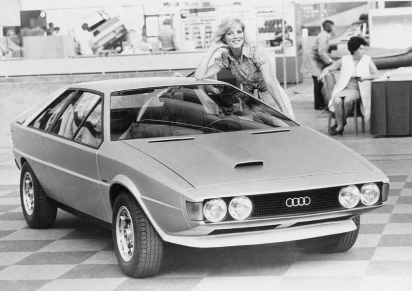 1973 Audi Karmann Asso di Picche by ItalDesign