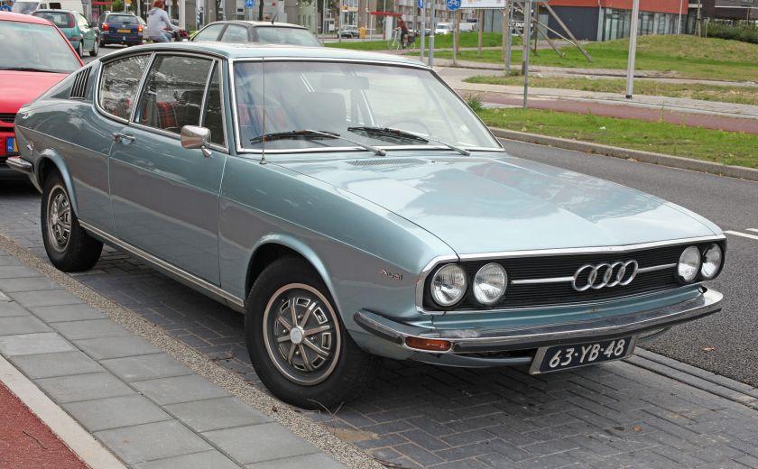 1974 Audi 100 C1 Coupe S Automatic