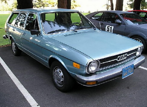 1974 Audi 80 Fox Station Wagon