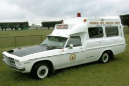 1974 Holden HQ Ambulance