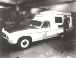 1974 Holden HQ long distance Ambulance