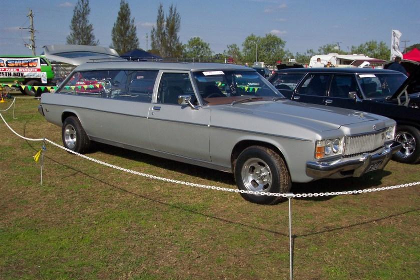 1975 Holden HX Statesman Caprice hearse
