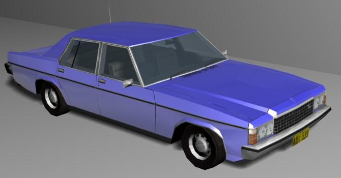 1976 Holden Statesman HX (3D Max Render)