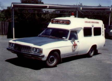 1977 Holden HX 1 ton Ambulance