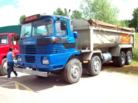 1977 Scammell Routeman 3 8 wheel Tipper