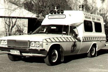 1978 Holden HZ Ambulance