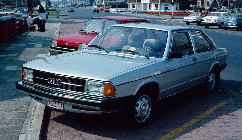 1979 Audi 100 2 door Belgian Coast
