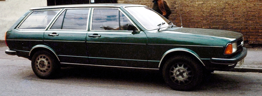 1979 Audi 80 B1 Estate England