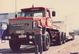 1980's Scammell S24 GTC 603X and Crane Fruehauf Mk 1 flask transporter